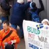 Kamp för fred på Fredens ö i Sydkorea