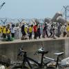 Demonstranter på Jeju-ön kan krävas på ersättning för att ha försenat militärbas