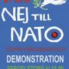 21 maj – demonstration: Nej till NATO – Stoppa Värdlandsavtalet